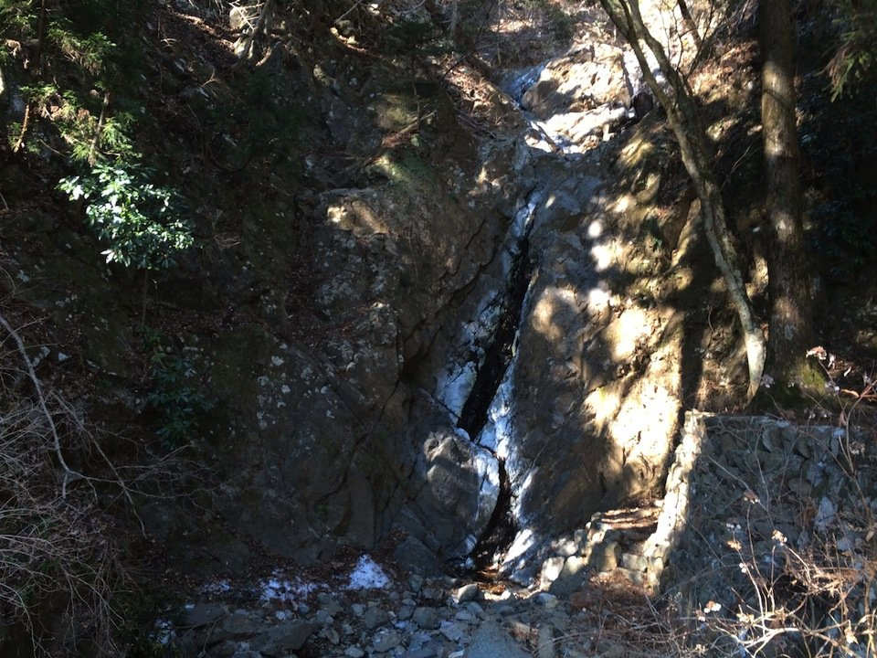 大山 二重滝