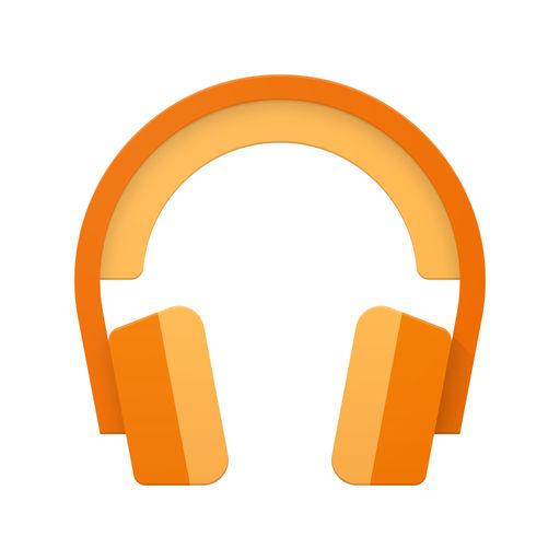 google play musicアプリのアイコン