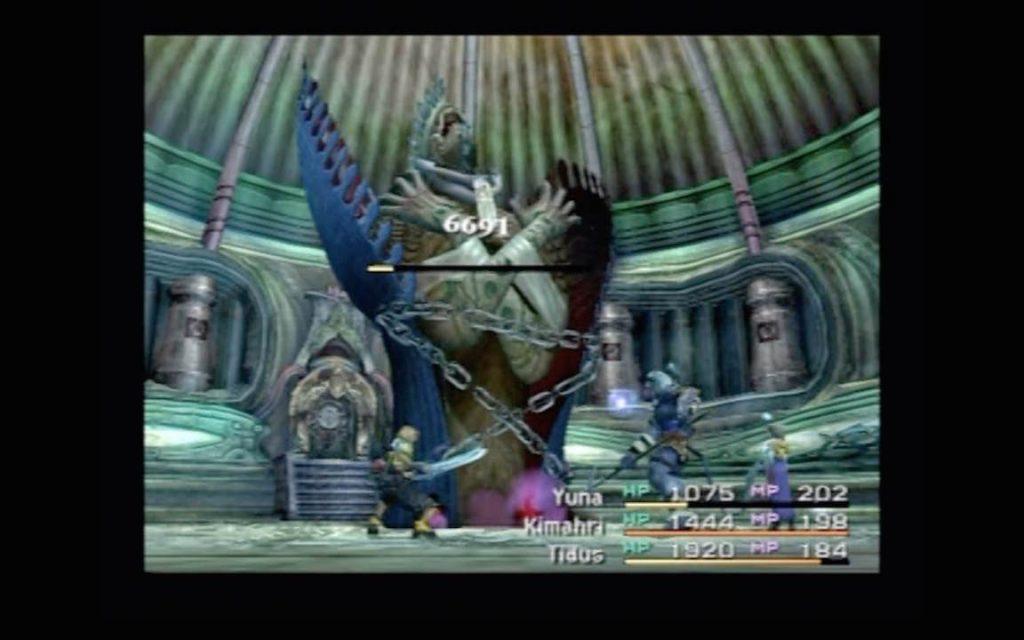 マカラーニャ寺院でのアニマ戦