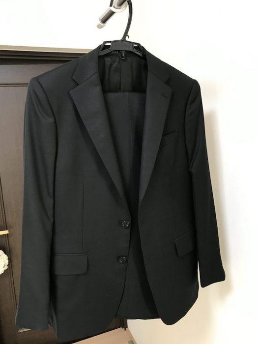 青山のヒルトンのスーツ