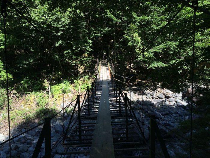 聖沢の吊橋