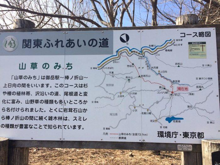 関東ふれあいの道のマップ