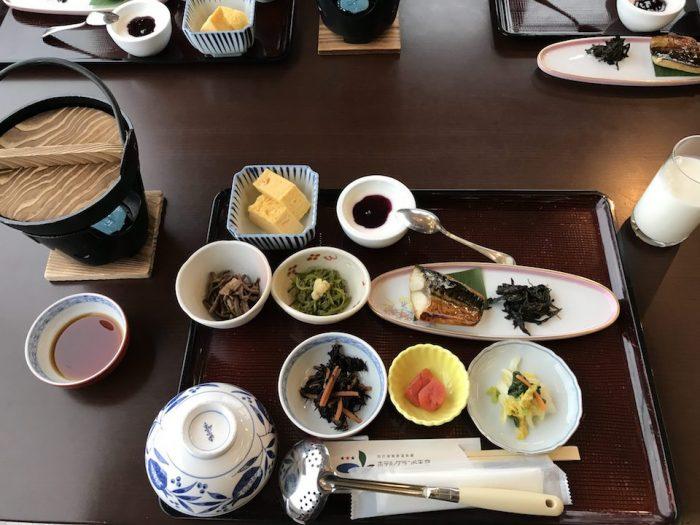 ホテルグランド天空の朝食