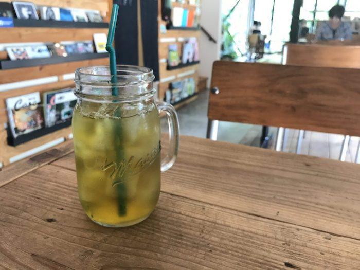食後の緑茶