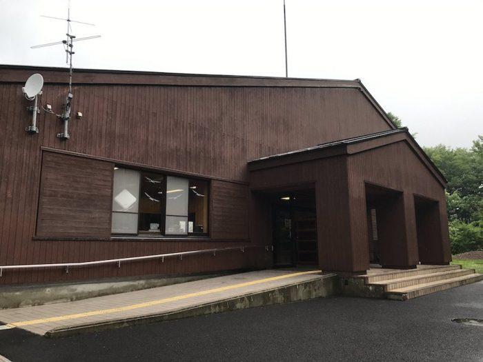新潟県立 エコミュージアムの外観