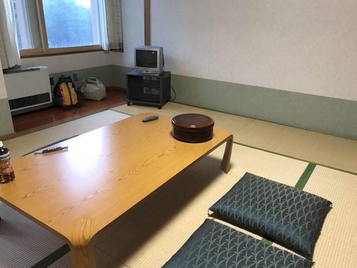浅草山荘の和室