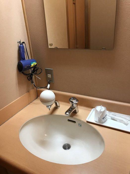 浅草山荘の洗面台
