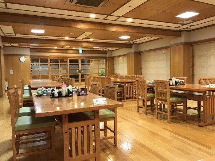 浅草山荘の食堂
