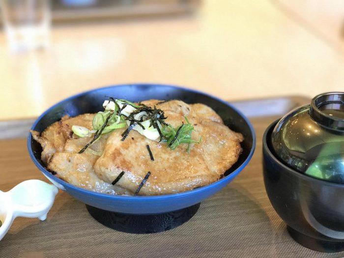 豚の味噌焼き丼