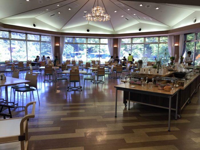 休暇村 奥武蔵の食堂