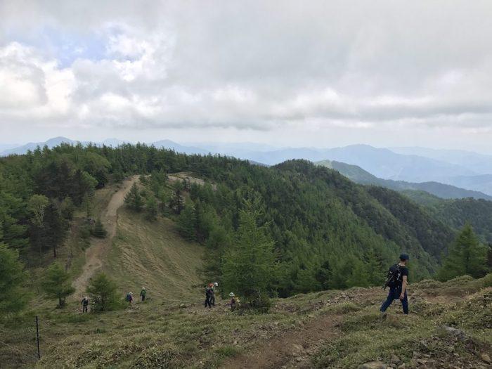 雲取山 山頂からの眺め