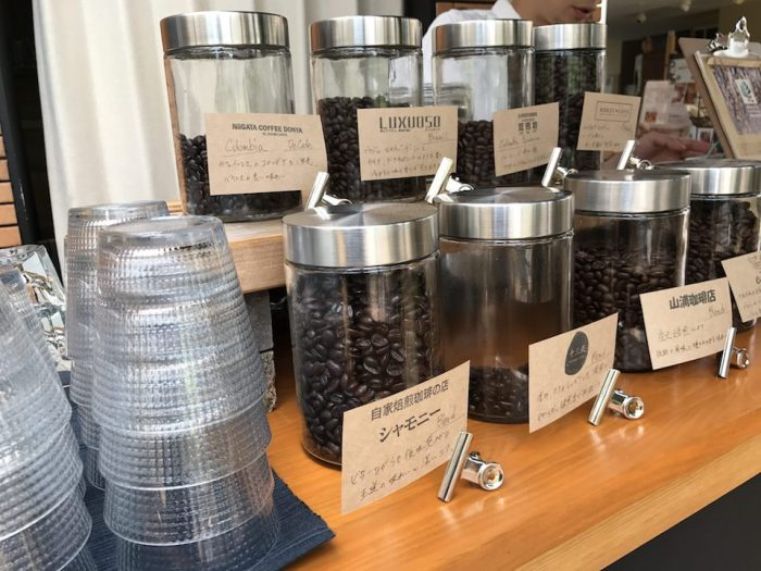 niigata coffee laboのコーヒー豆ラインナップ