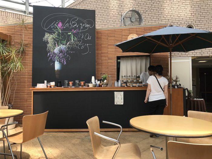 niigata coffee cafeのカウンター