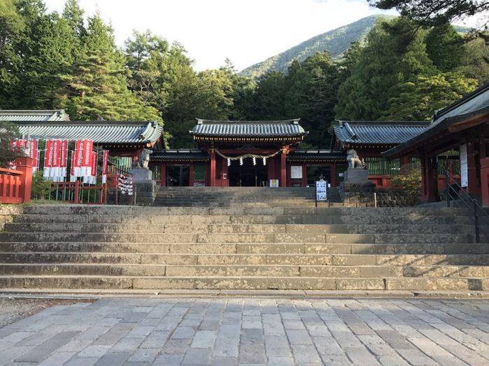 二荒山神社の門