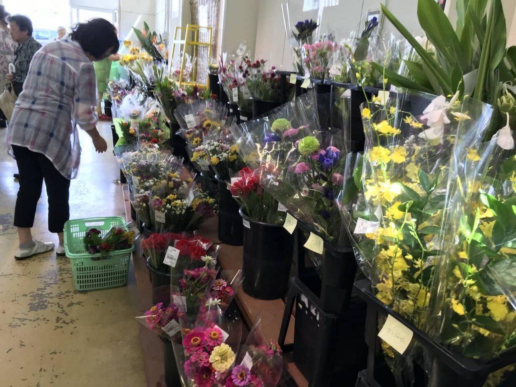 海老名グリーンセンターの花売り場