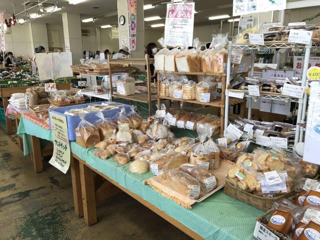 海老名グリーンセンターのパン売り場