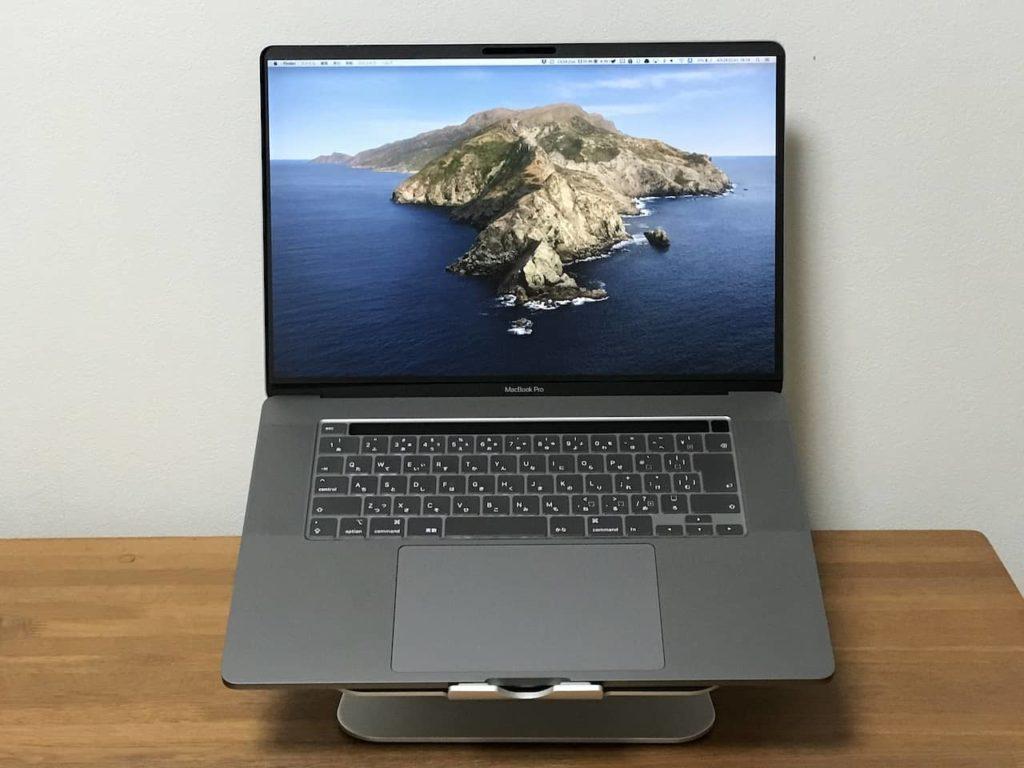 YMYWorld 覗き見防止フィルターを装着したmacbook pro 16インチ