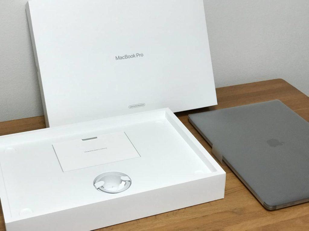 Apple 認定整備済のMacのパッケージと梱包